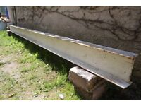 RSJ beam 3.9m long 18cm tall.