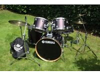 Yamaha drum kit for sale in very good condition and excellent value. Great for a beginner!