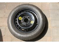 Free -Spare tyre with wheel