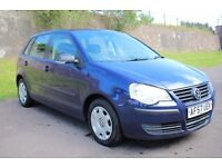 A1 condition Low mileage 57 Volkswagen Polo E70 1.2 5dr,FSH,Timing chain engine,2 keys