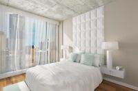 Condo neuf 2 chambres-Griffintown Piscine-Gym-Terrasses