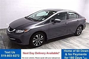 2014 Honda Civic EX! SUNROOF! REAR CAMERA! BLUETOOTH! HEATED SEA
