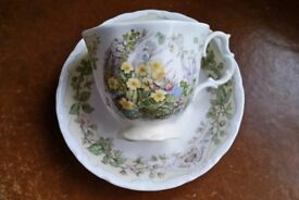 """Brambly Hedge """"Spring"""" Cup & Saucer"""