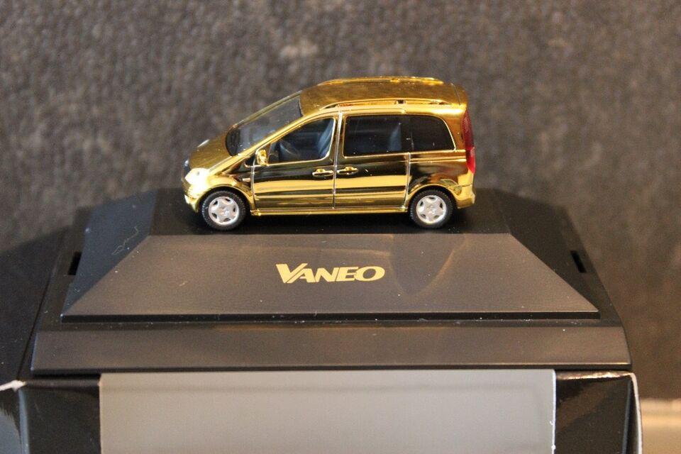 Mercedes-Benz VANEO W414 DCVD-Collection Nr. 9 Herpa 1:87 gold in Hamburg - Harburg