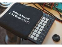 Novation Launchpad MK2 with soft case Ableton flstudio midi controller