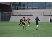 Play 7 a-side Football in Hackney. Sunday league starting soon. 3G pitch. FA qualified refs, stats