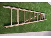 8 Step, Step Ladders 5ft 5inches two Top Platform Good Solid Wooden Step Ladders Perfect Bargain