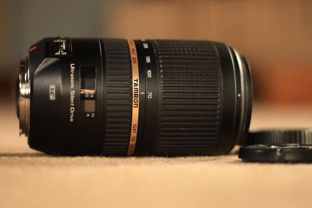 Tamron 70-300mm VC AF USM f4-5.6 telephoto Canon fit
