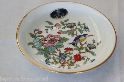 PREGIATO PIATTINO VINTAGE IN PORCELLANA  AYNSLEY PEMBROKE BONE CHINA PLATE