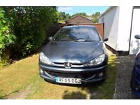 Used Peugeot 206 cc Allure special edition, full leather, alloys etc