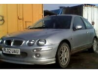 Mg zr+ cheap 1.4 car with mot