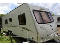 Senator Wyoming series 5 Twin Axle Fixed Bed With Large Awning with lots of extras
