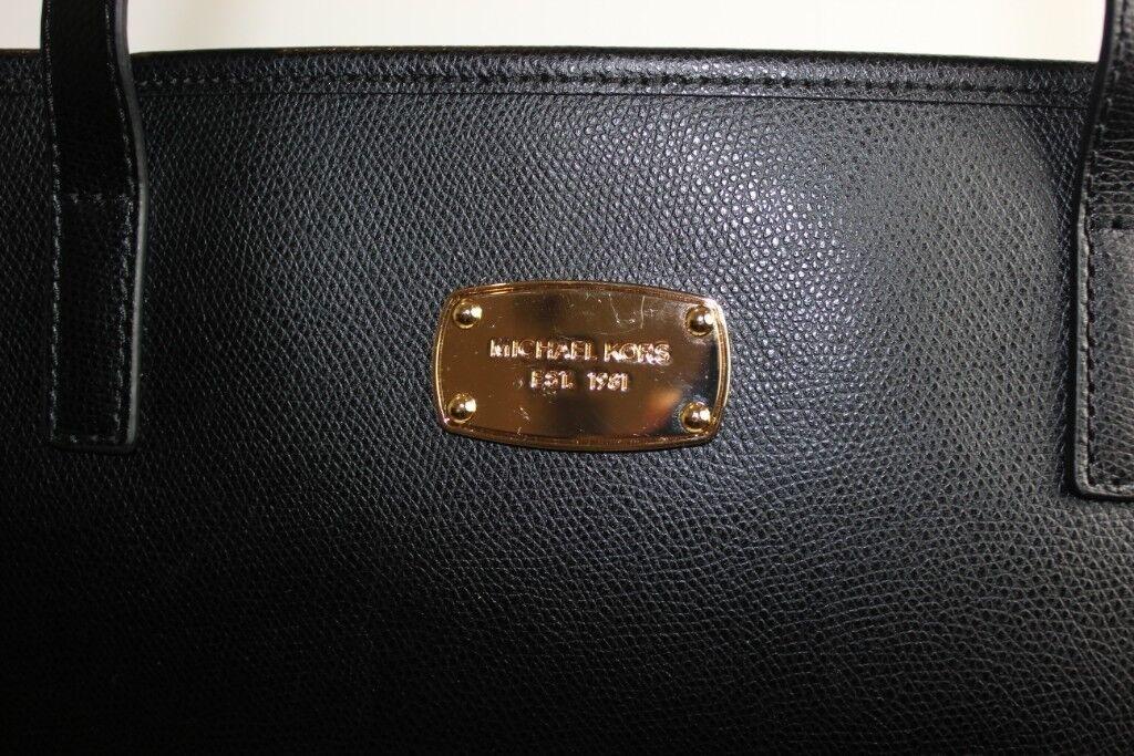 Brand-New Black Michael Kors Tote Bag  3926fe0230967