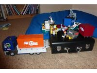 Playmobil cargo set-TRUCK, BOAT AND LOADING SET