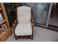 2 Piece Conservatory Set: 2 seat Settee and Chair