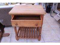 Wooden Chef S Table Handmade By Country Kitchens Of Shaftesbury