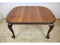 Vintage Dining Table Retro Mid Century Wooden Furniture