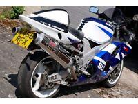 Suzuki tl 1000 lots of extras must see super fast bike