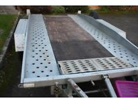 Tiltbed car transport Trailer tilt bed trailer