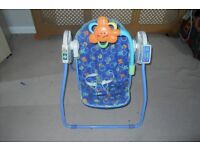 Baby Swing £25 . Fishers price