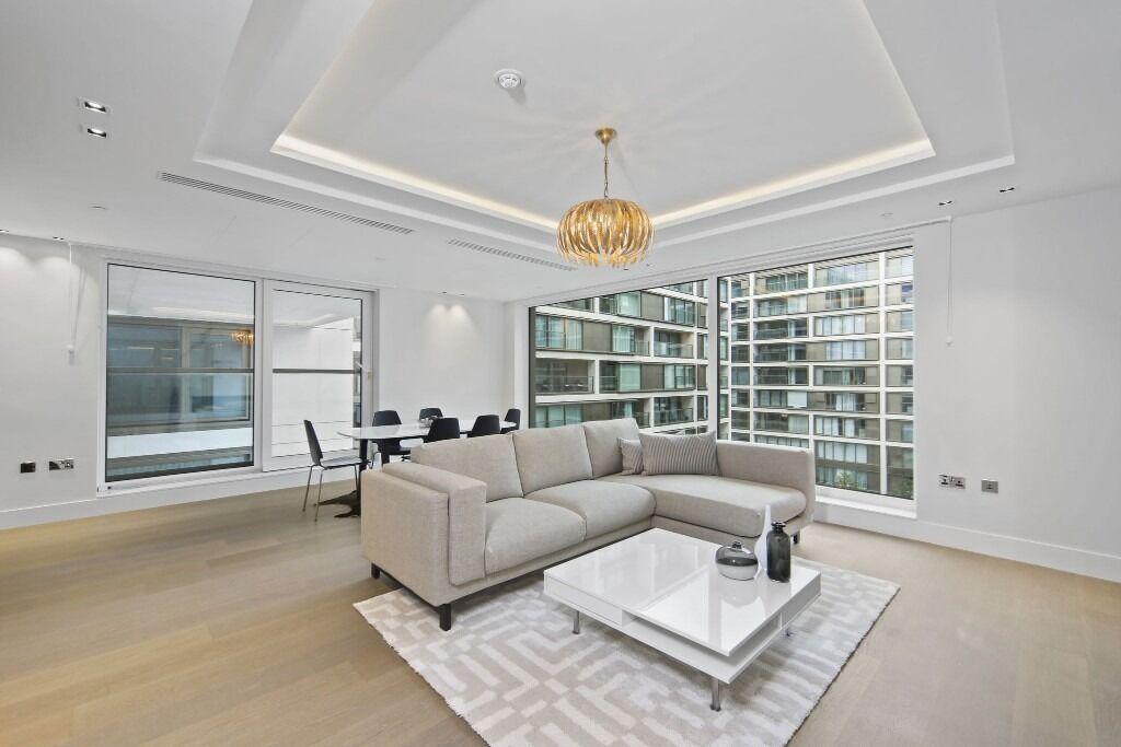 Stunning luxury 1 bedroom flat**2 bathroom**high street Kensington**