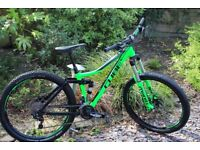 Cube Stereo Pro full suspension mountain bike