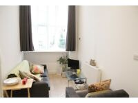 1 bed furnished flat, canal side warehouse conversion, concierge, walk to Canary Wf & DLR station