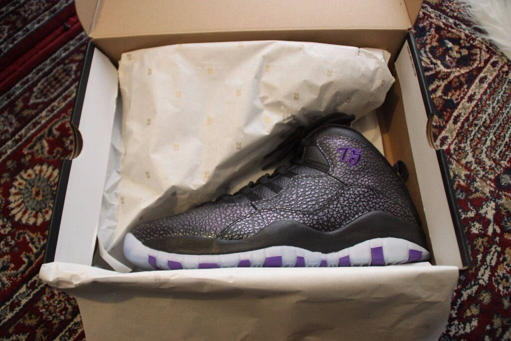 Nike Air Jordan 10 X Paris Europe EU Exclusive Size UK 11 / US 12 ...