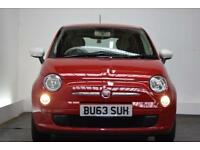 FIAT 500 1.2 COLOUR THERAPY 3d 69 BHP (red) 2013