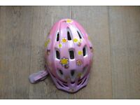 Girls bike / bicycle helmet