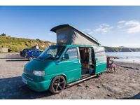 2002 T4 TDI campervan with pop top and full conversion (LOW MILEAGE)