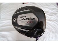excellent Titliest 910 d2 driver with head cover