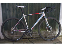 Boardman CX Team Cyclocross Bike, upgraded and fully serviced.