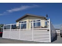 40 x 20 lodge with full decking for sale at sandy bay holiday park, 5* facilities open 12 months
