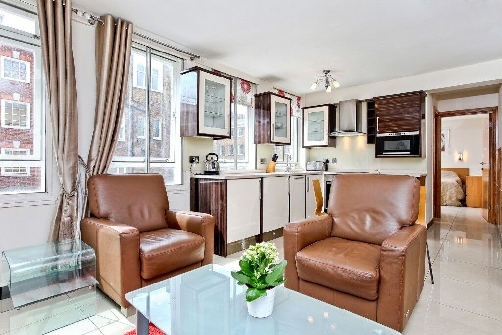 Fully furnished one bed flat for long let in Marylebone**Baker Street