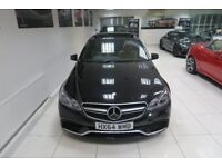 MERCEDES-BENZ E CLASS 5.5 E63 AMG MCT 4dr Auto (black) 2014