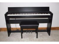 Rowland F-130 Digital Piano with stool