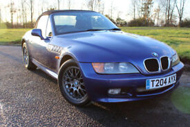 1999 T BMW Z3 1.9 CONVERTIBLE ROADSTER LOW MILEAGE