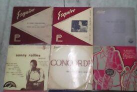 "JAZZ records: Miles Davis + Mulligan + Sonny Rollins + BLUE NOTE etc... 13 x records 10"" size heavy"