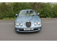 Jaguar, S-TYPE, Immaculate interior, Low mileage, 6 months MOT, Jaguar Collectable.