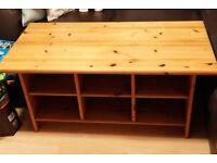Ikea Pine Coffee Table
