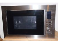 HOTPOINT INTERGRATED MICROWAVE OVEN COMPLETE WITH 1 YR MANUFACTURERS WARRANTY