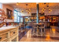 Bar & wait staff wanted in newly refurbished bar Balham/Clapham South £7.50 per hour + tips