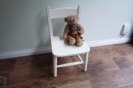 Cute Little Hand Painted Children's Chair