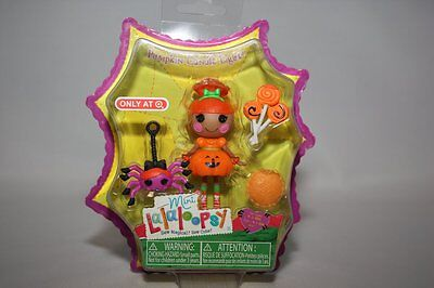 MINI LALALOOPSY PUMPKIN CANDLE LIGHT TARGET HALLOWEEN DOLL 2013 COSTUME MIP   - Lalaloopsy Halloween Doll