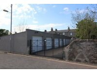 Single car lock up garage to let, Union Grove, near Brighton Place Mains Electric and Water