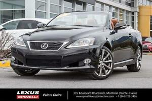 2013 Lexus IS 250C CONVERTIBLE MUST SEE, SUPER CLEAN, ONE OWNER,