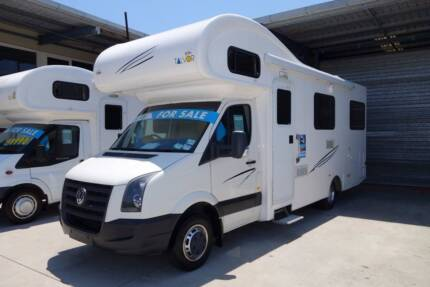 2012 VW Crafter Euro Deluxe Motorhome Croydon Park Port Adelaide Area Preview