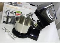 NEW Campomatic MB300S Turbo Mixer, 5 speed, with stainless steel rotating bowl