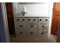 Merchant style drawers/sideboard